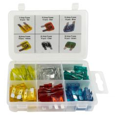 60pc Standard Fuse Assortment