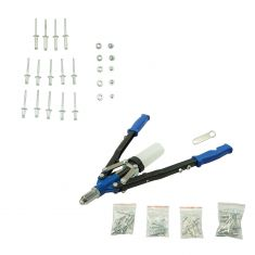 Scissor Type Window Regulator Hardware Installation Kit w/Pop Rivot Gun (Dorman)