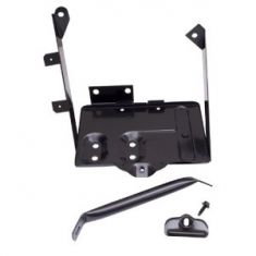 Battery Tray Kit, 76-86 Jeep CJ Models