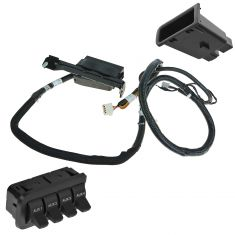05-07 Ford F250, F350, F450, F550 Super Duty In-Dash Upfitter Auxiliary Switch Kit (Ford)