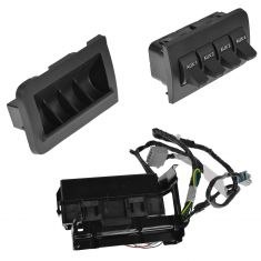 11-15 Ford F250, F350, F450, F550 Super Duty In-Dash Upfitter Auxiliary Switch Kit (Ford)