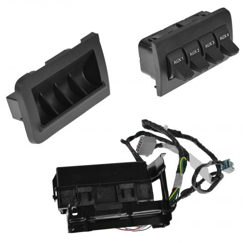 2011 15 ford upfitter auxiliary switch ford oem. Black Bedroom Furniture Sets. Home Design Ideas