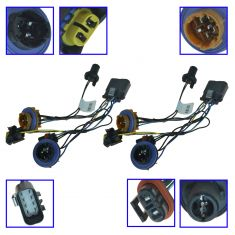 07-13 Avlnche; 07-14 Tahoe, Subn (w/RH Rule Road HL (RPO T84)) Headlight Wiring Harness Pair (GM)