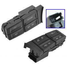 10-12 Mustang (w/o Fctory Nav) Stg Whl Mtd Radio, Phone, Audio, Cruise Cntrl Switch Buttons SET (MC)