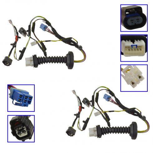 dodge door harness rear pair mopar 56051931ab - mpzma00005 ... 98 dodge ram radio wiring #11