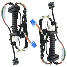 06-08 Dodge Ram 1500; 06-10 Ram 2500, 3500 Quad Cab Rear Door Mounted Wiring Harness PAIR (Mopar)
