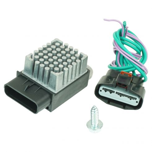 Radiator Cooling Fan Relay 1azmx00087 At 1a Auto. 0407 Chrysler Pacifica 0107 Town Country Dodge Caravan. Dodge. Dodge Cooling Fan Harness At Scoala.co