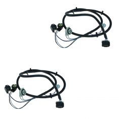 03-07 Chevy Silverado 1500, 2500HD, 3500; 05-07 1500 Hybrid Taillight Wiring Harness PAIR (GM)