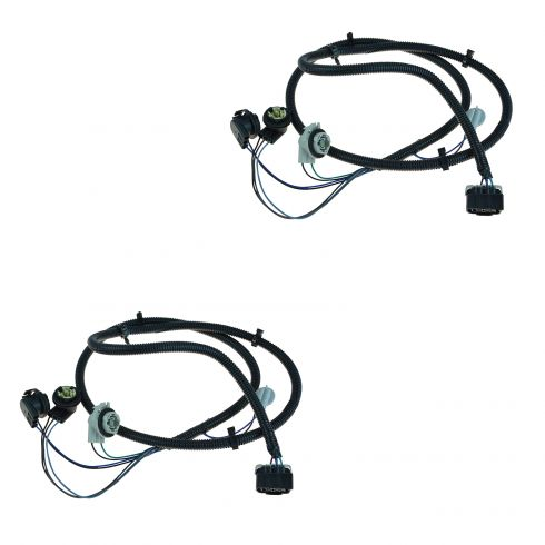 chevy tail light wiring harness pair general motors oem 16531401 rh 1aauto com tail light wiring harness 2008 silverado tail light wiring harness jeep