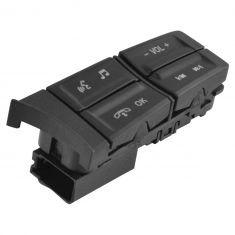 10-12 Mustang (w/o Factory Nav) Stg Whl Mtd Radio, Phone, Audio Switch Buttons RH (Motorcraft)