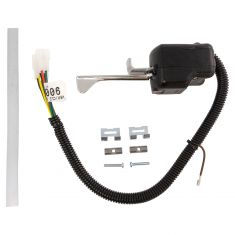 87-95 Mack RD (w/8 wire Harness) Combination Hazard w/Running Lights Chrome Turn Lever Assy (Dorman)