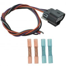 92-05 GM; 96-00 Isuzu Multifit Electric Fuel Pump Wire Harness Kit w/Oval Connector (Delphi)