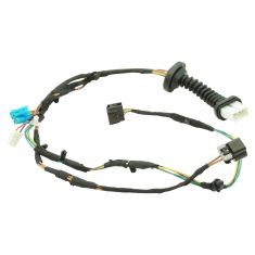 04-05 DG Ram 1500, 2500, 3500 Crew Cab w/Pwr Locks Rear Dr Wiring Harness w/Connectors LR = RR (DM)